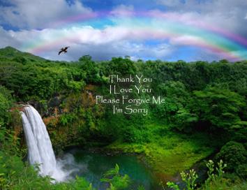 Please forgive me I love you Thank you