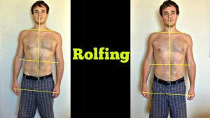 after 3 sessions rolfing