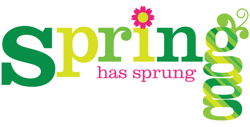 Spring Has Sprung Clip Art